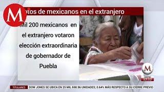 INE recibe del extranjero más de mil votos para gobernador de Puebla