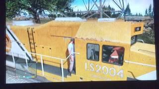 Se puede o no conducir trenes de GTA V