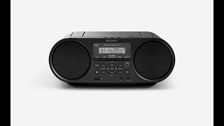trn tay i Sony ZS-RS60BT  CD Boombox c Bluetooth