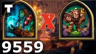 Hearthstone: Kobolds & Catacombs Shaman vs Whompwhisker [05] (9559)