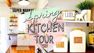 HOUSE TOUR SPRING 2018 / RUSTIC FARMHOUSE DIY DECOR / DANIELA DIARIES
