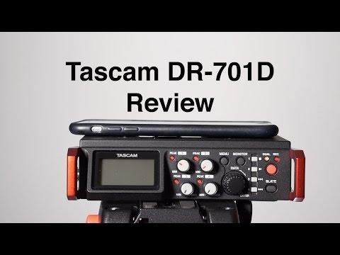 Tascam DR-701D Audio Recorder Review