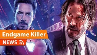 John Wick 3 Takes Down Avengers Endgame BUT Its not all Bad