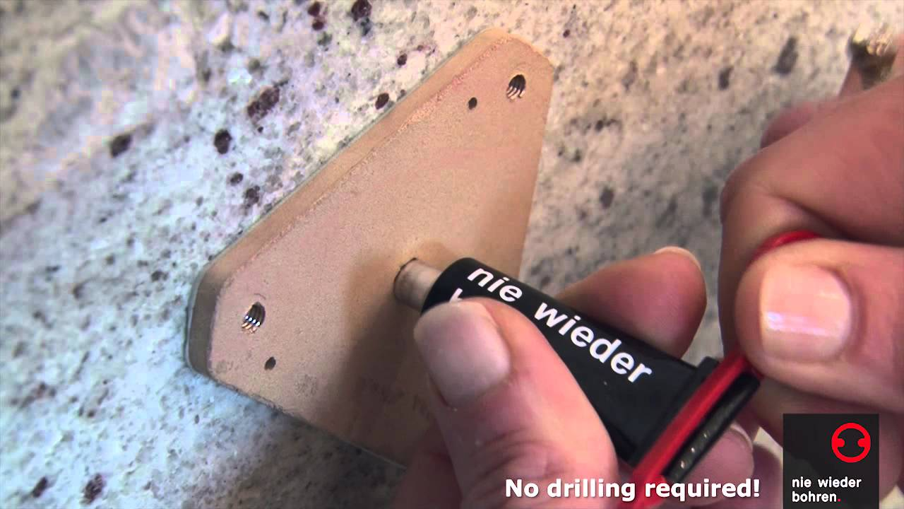 no drilling required Grab Bar installation - How to Install - YouTube