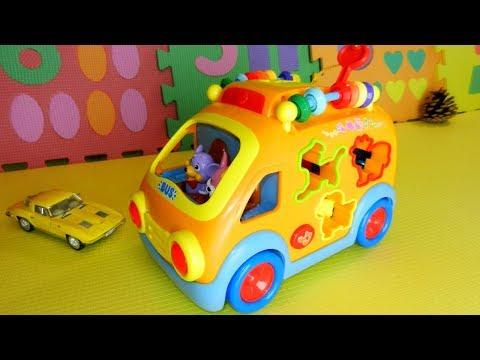 видео: Игрушечные машинки и новый автобус в подарок малышу