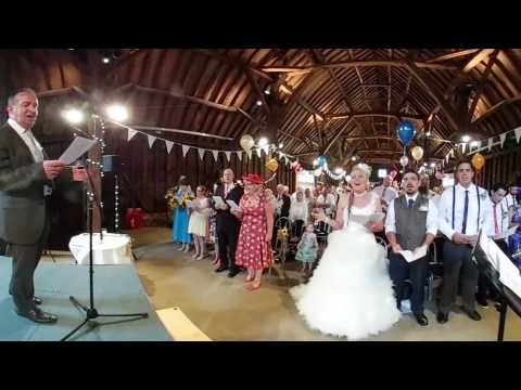 Sobhian and Ryan Wedding Ceremony in Manor Farm | 360 video