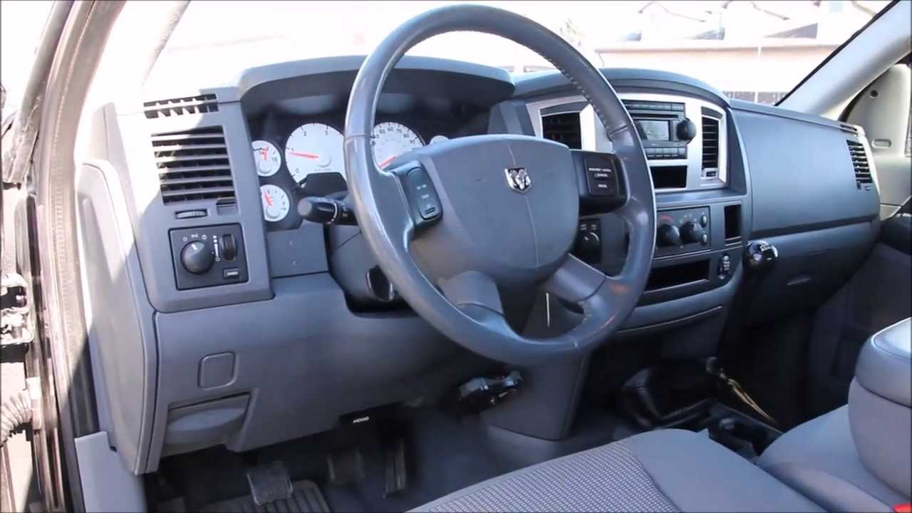 07 dodge ram 2500hd mega cab 4x4 6 speed manual 5 9l. Black Bedroom Furniture Sets. Home Design Ideas