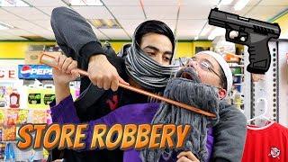 Dada Jee Saves STORE ROBBERY