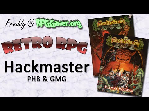 Retro RPG: Hackmaster: Players Handbook And Games Masters Guide