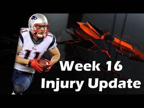Fantasy Football 2019 Week 16 Injury Update