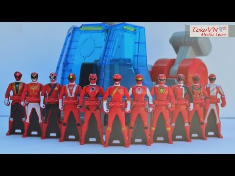 [TMT][133c] Review Control in the Rangers Key Super Sentai Robo! Gaoranger - Go-Busters!