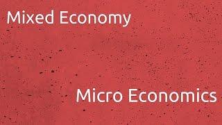 What is Mixed Economy   Introduction to Micro Economics   CA CPT   CS & CMA Foundation