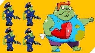 ЭВОЛЮЦИЯ ЗОМБИ БОССА 2 сезон 15 уровень - Zombie Ranch - Сражение с зомби! на Андроид