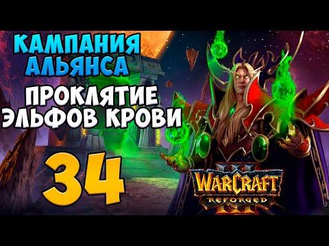 Warcraft III: Reforged. Прохождение. Часть 34 (Битва за Иллидана)
