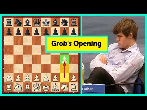 Grob's Opening Against Magnus Carlsen! The Result?