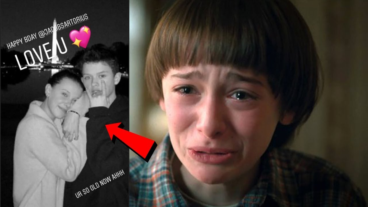Noah Schnapp Breaks Up With Millie Bobby Brown Because Of This