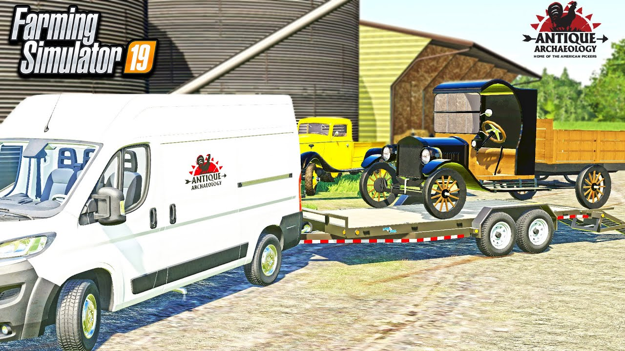 """AMERICAN PICKERS ROLEPLAY! (OLD FORD MODEL """"T"""" BARN FIND!) 