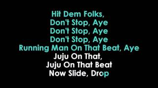 JuJu On Dat Beat (TZ Anthem) karaoke Zayion McCall ft Zay Hilfigerrr | GOLDEN KARAOKE