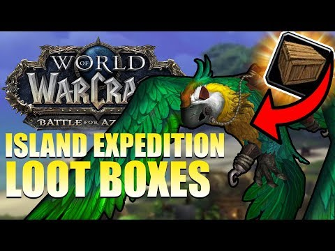 Island Expedition LOOT BOXES!? Easily Obtain ALL Transmog/Pets/Toys/Mounts - Patch 8.3