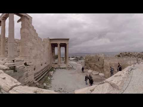 360 video: Erechtheum, Athens, Greece