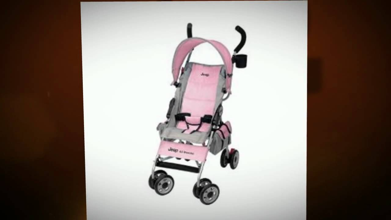 jeep wrangler sport all weather stroller shock - youtube