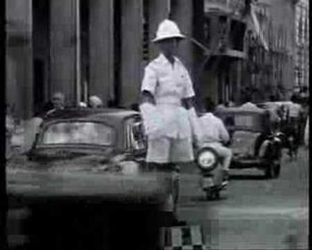 Old Singapore And Raffles Hotel In 1961 Youtube
