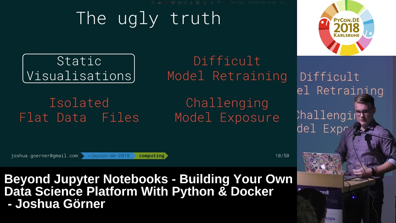 Image from Beyond Jupyter Notebooks - Building your own Data Science platform with Python & Docker