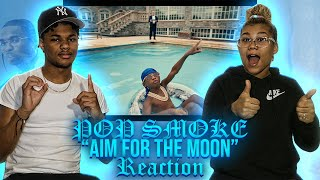 Pop Smoke ft. Quavo - Aim For The Moon (Official Music Video) REACTION
