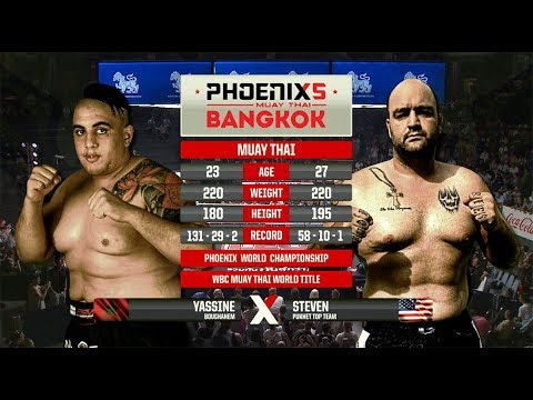 Yassine BouGhanem Vs Steven Banks - Full Fight (Muay Thai) -