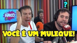 TRETA!! EMÍLIO SURITA X MAURÍCIO MEIRELLES X REGIS TADEU - Pânico 2019 - EP. 49