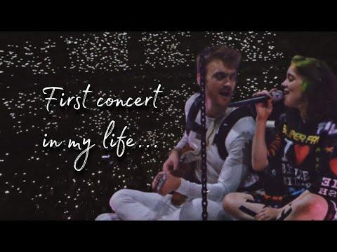концерт Билли и Финнеаса в Москве 🥰 лучший день в моей жизни...