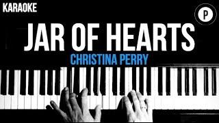 Christina Perry - Jar Of Hearts Karaoke SLOWER Piano Acoustic Instrumental Cover Lyrics