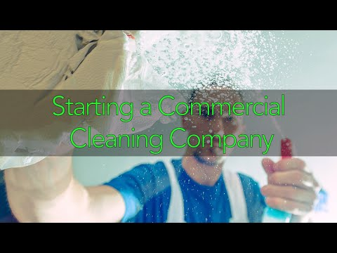 Starting a Commercial Cleaning Company featuring Jessie Carson