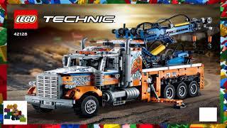 LEGO instructions - Technic - 42128 - Heavy-Duty Tow Truck