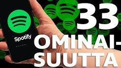 Spotifyn ominaisuudet joista et tiennyt