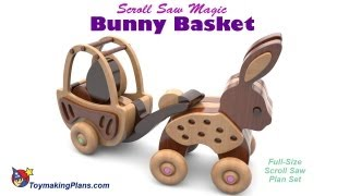 Wood Toy Plans - Bunny Basket