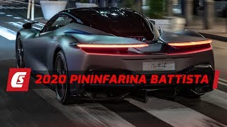 New Pininfarina Battista Hypercar Drive In New York City