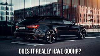 Is My New Audi RS6 Underpowered? Dyno Test And Air Filter Upgrade!