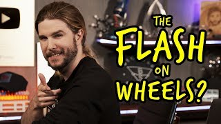 Is The Flash Faster on a Bicycle? | Because Science Footnotes