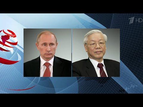 Президент России провел телефонные разговоры с королем Иордании и главой Вьетнама.