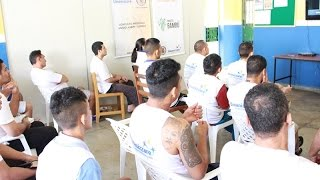 Reeducandos do Projeto Bambu preparam-se para prova do ENEM