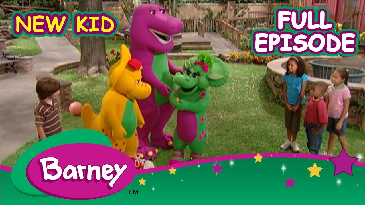 Barney Full Episode New Kid Youtube