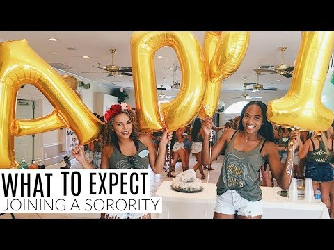 WHAT TO EXPECT AFTER JOINING A SORORITY PT 1:SOCIALS, DATE FUNCTIONS & INITIATION