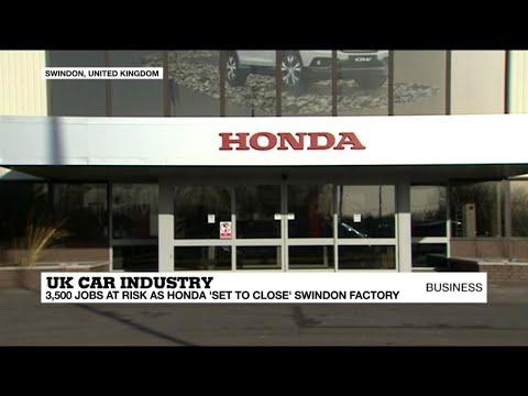 Honda 'set to close' factory in Swindon, UK