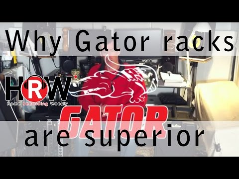 Why Gator racks and cases are superior!
