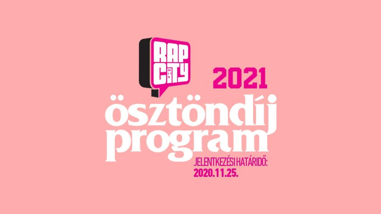 Rapcity Ösztöndíj 2021