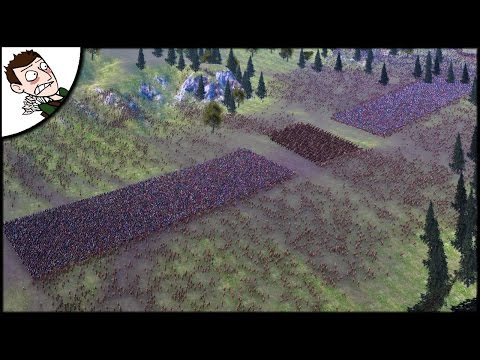 Massive 32000 Roman v Barbarian Battle of Teutoburg Forest - Ultimate Epic Battle Simulator Gameplay