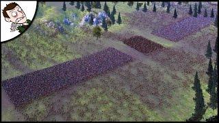 Massive 32000 Roman v Barbarian Battle of Teutoburg Forest - Ultimate Epic Battle Simulator Gameplay