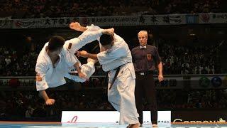 新極真会 The 11th World Karate Championship Men 5th round4 Junki