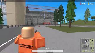 NEW BATTLE ROYALE IN ROBLOX!! || Roblox Prison Royale[Early Access]